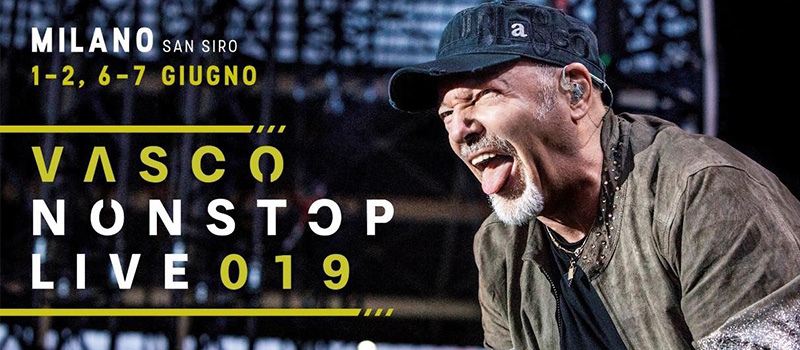 VASCO ROSSI IN CONCERT - 20%off and ticket for public transport