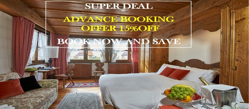 Early booking rate -15%