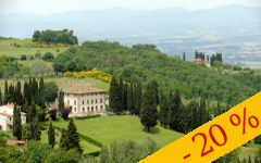 SPRINGTIME IN THE TOP TUSCAN COUNTRYSIDE: GET 20% OFF THE BEST FLEXIBLE RATE BED & BREAKFAST