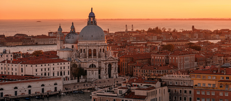 New year's eve in venice
