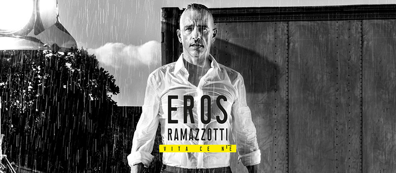 EROS RAMAZZOTTI IN CONCERT - 20% off and ticket for the public transport