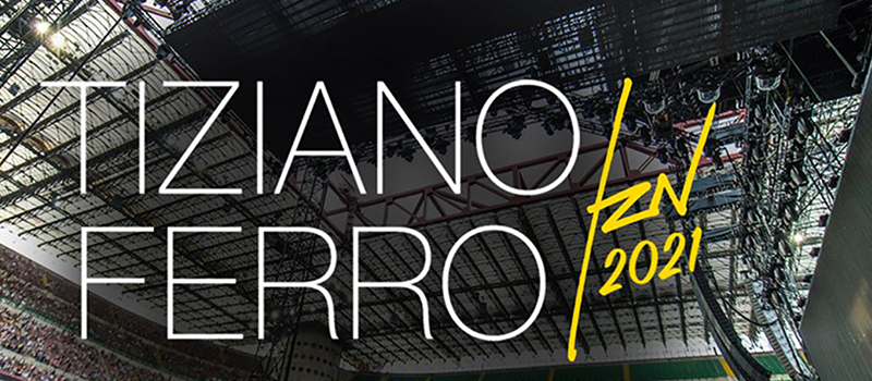 TIZIANO FERRO IN CONCERT - 20% off and ticket for the public transport