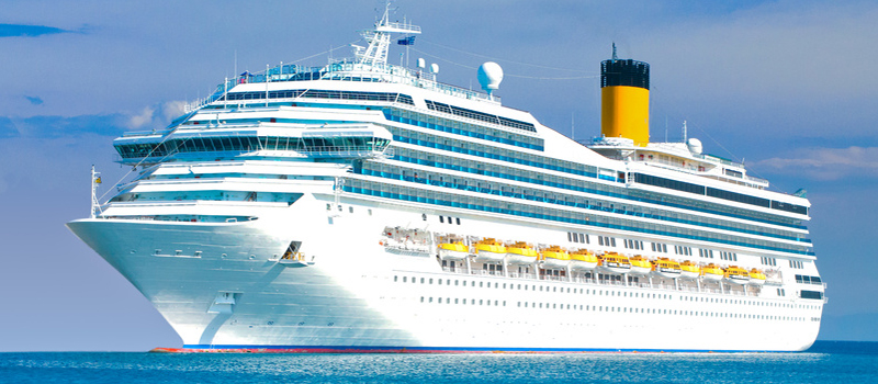 CRUISE PACKAGE  - Breakfast, welcome drink, taxi ride to/from Genoa Terminal Cruise included
