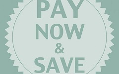 NEW! SPECIAL SEMI-FLEXIBLE PREPAID RATE- Pay Now & Save